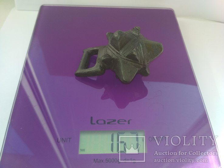 Кистень КР бронза 166-167 грамм, фото №7