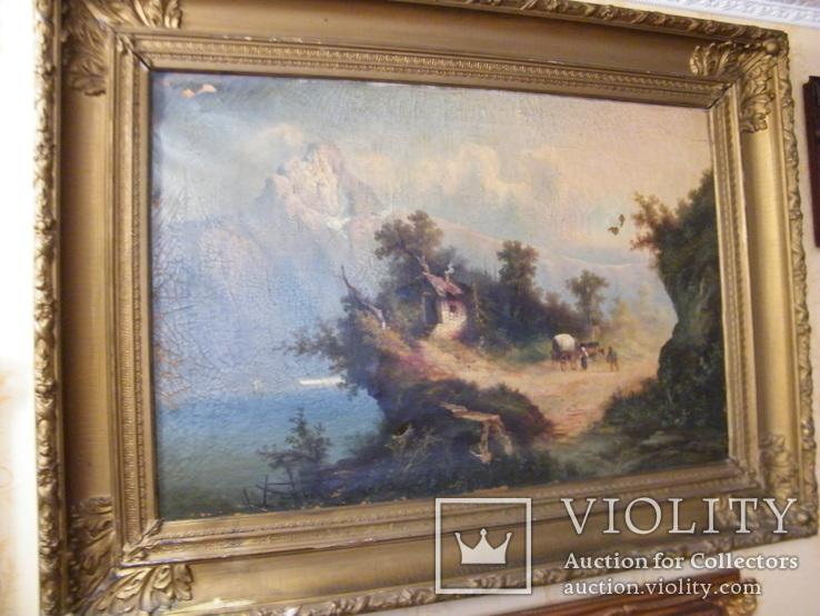 Большая Немецкая картина 19-й век.
