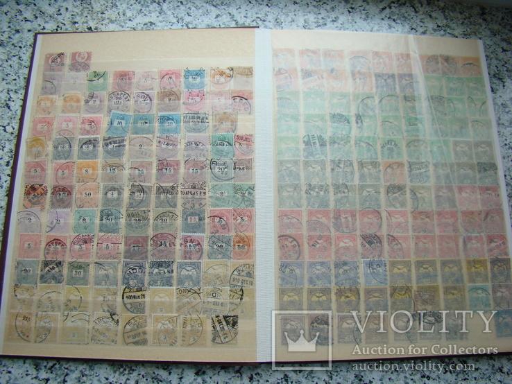 Коллекция королевство Венгрия с 1871 года и старая Чехословакия более 1000 марок