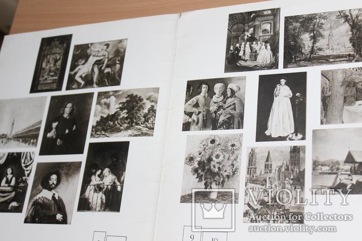 Фрагменты картин музея Метрополитен 1975 год, фото №4