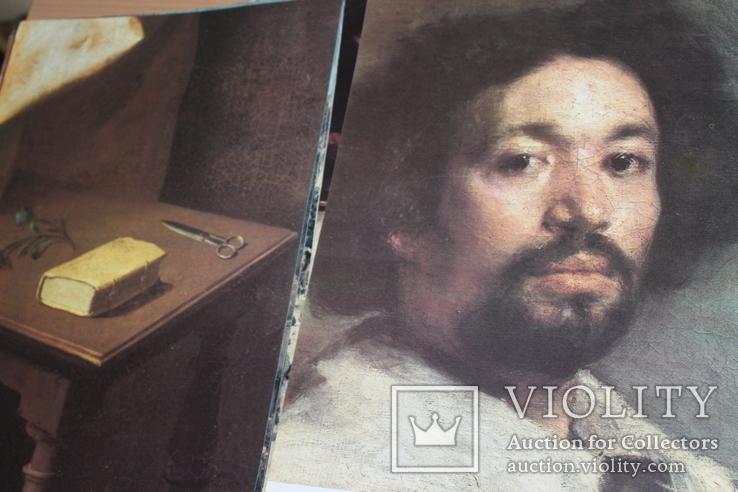 Фрагменты картин музея Метрополитен 1975 год, фото №8