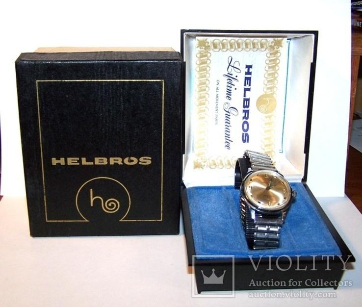 Часы watch Helbros автоподзавод в кейсе с коробкой