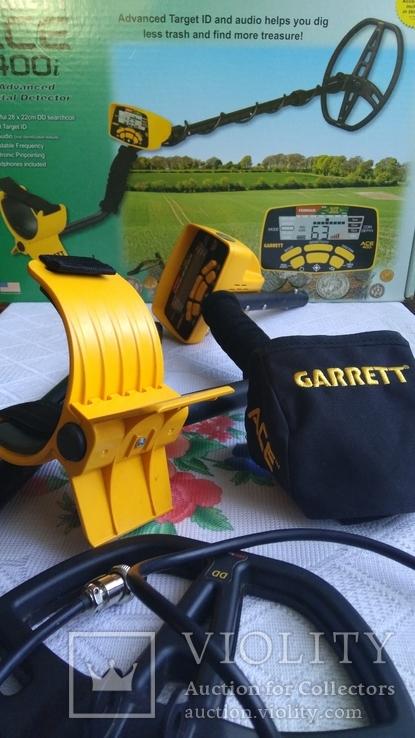 Garrett - ACE 400i +pro-pointer 2 -garrett