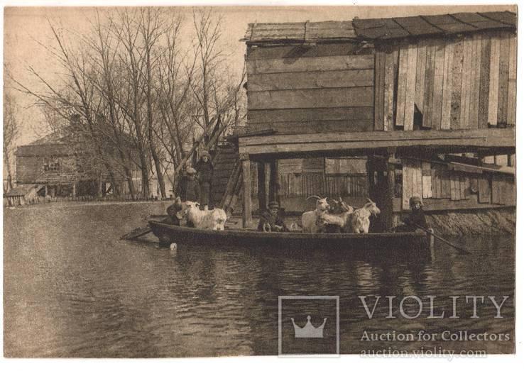 Киев, наводнение , Трухановка, 1930 год