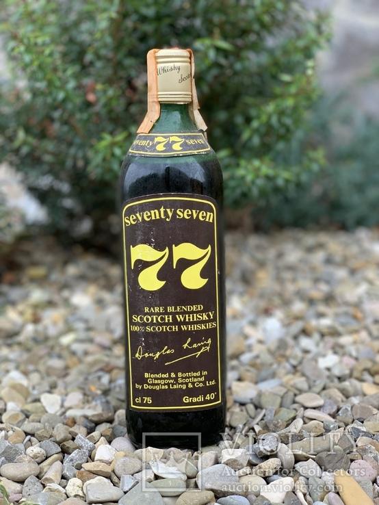 Whisky seventy seven 1970s
