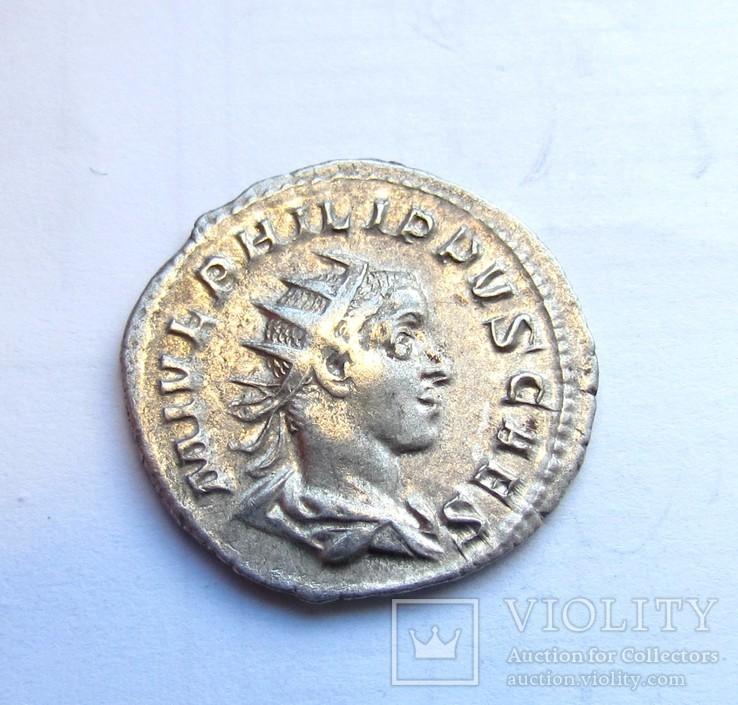 Антонініан Філіпа  в ранзі цезаря