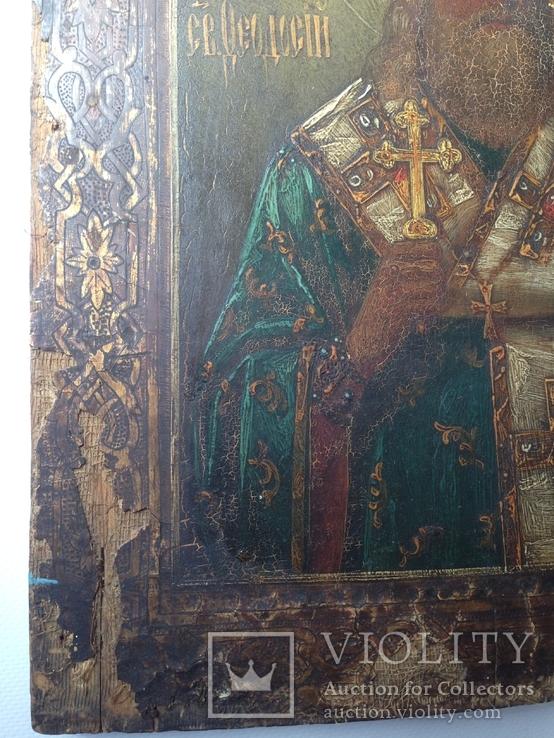 Икона Св.Феодосий Углиц.Чудотв., фото №5