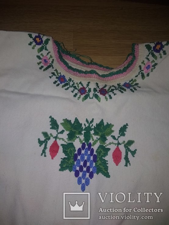 Вишита сорочка гладдю, фото №6