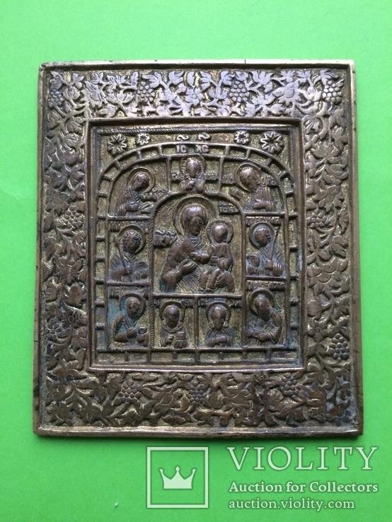 Икона Богородица с предстоящими