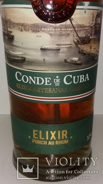 Ром Conde de Cuba Elixir, Куба, фото №3