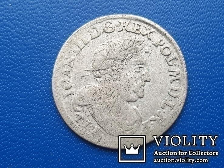6 грош 1680 г. Ян ІІІ Собесский, фото №5