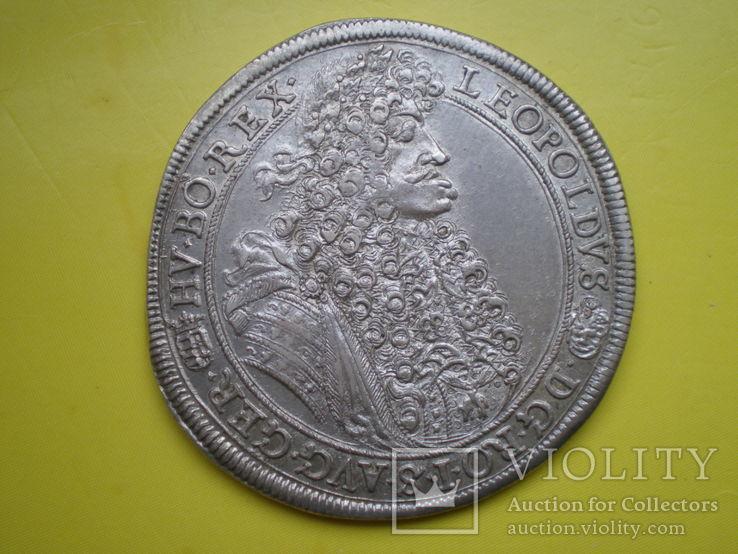 Талер 1690 г. Леопольд