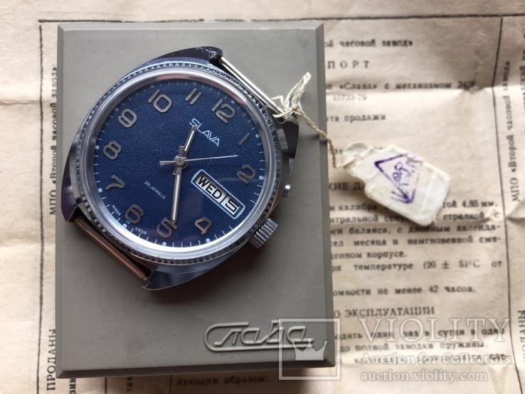 Новые часы Слава с календарем и датой