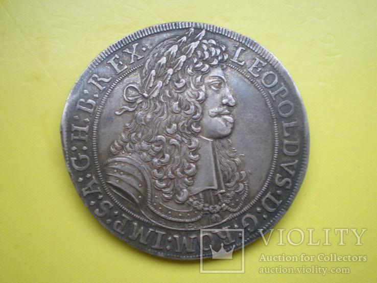Талер 1680 г. Леопольд