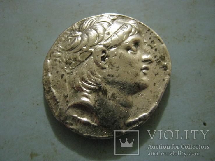 Тетрадрахма  Антиох - 7  138 -129 гг.до н.э.