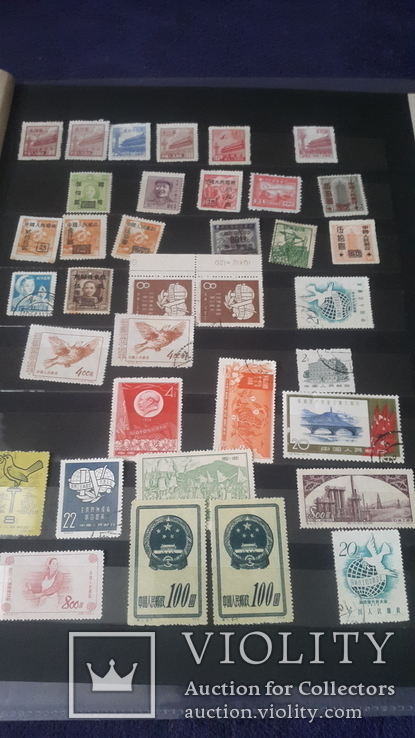 Большой набор марок Китая