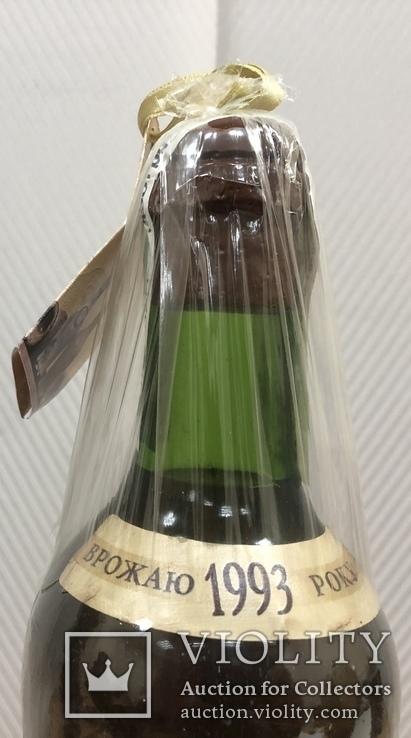 Колекційне вино Масандра. Мускат білий. 1993 рік., фото №5