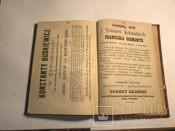 Kalendarz dla polek na rok 1869 (ілюстрований календар), фото №4