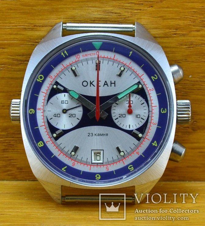 Мужские Советские Часы Полет Хронограф
