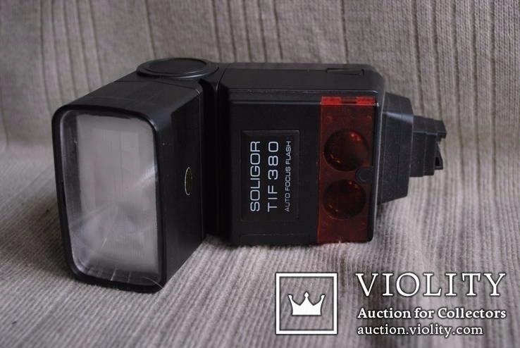 Фотовспышка Soligor tif 380 avtofocus для Sony, фото №5