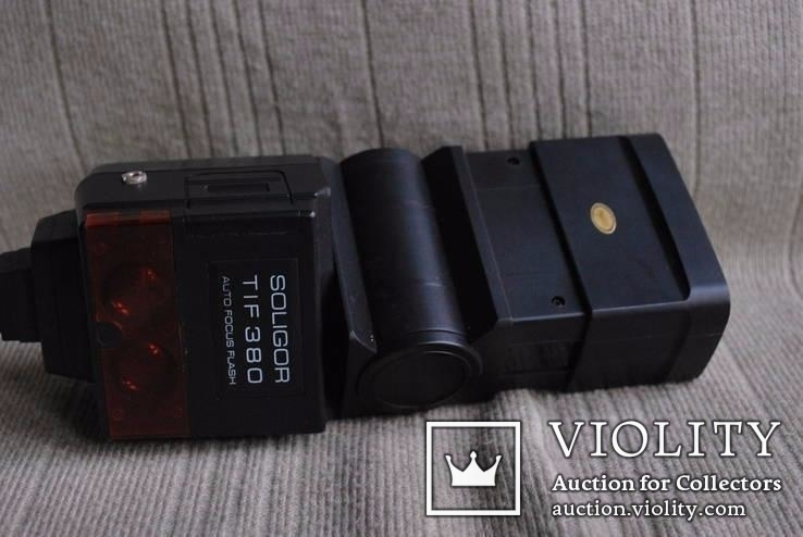 Фотовспышка Soligor tif 380 avtofocus для Sony, фото №9