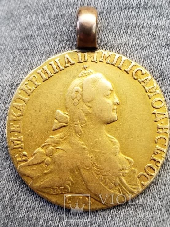 10 рублей 1766
