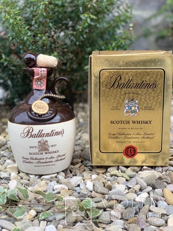 Whisky Ballantine's ceramic 1980s