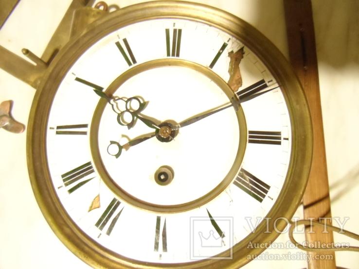 Механізм часов на одну гирю