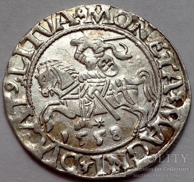 Полугрош 1558 L-LITVA