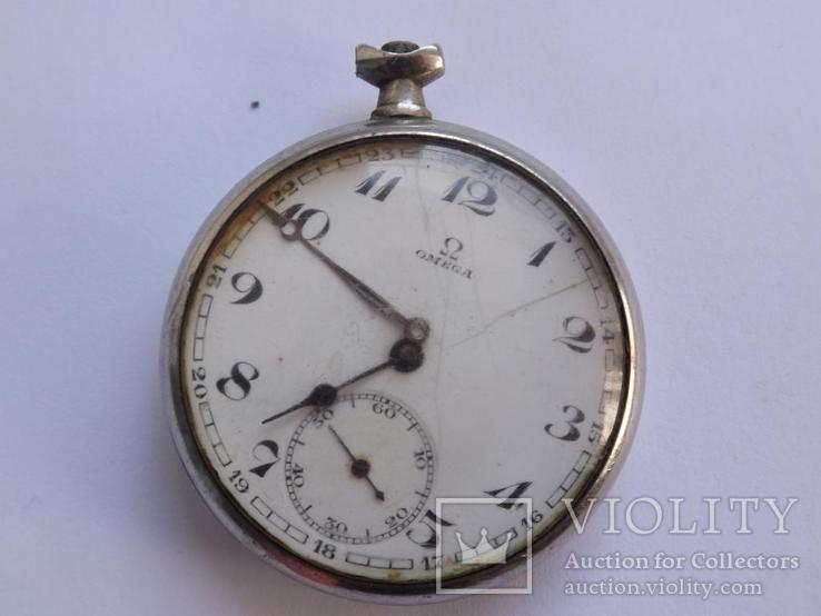 Карманные часы Omega на запчасти.