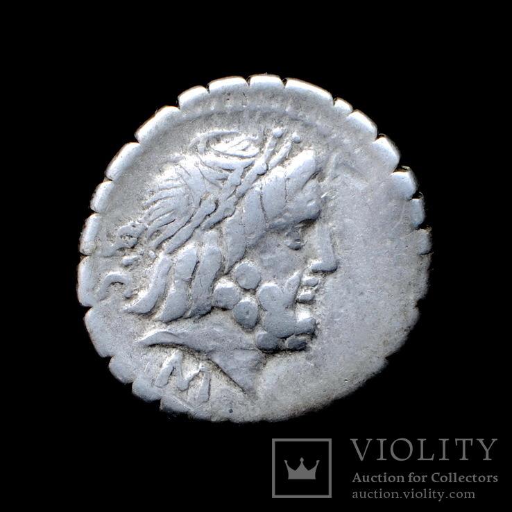 Республиканский Динарий Q. Antonius Balbus 82г. до н.э.