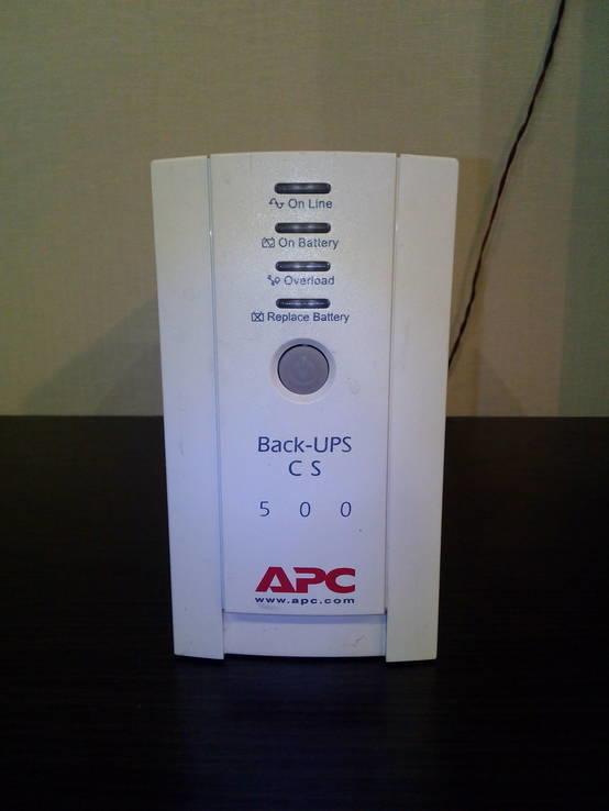 UPS ИБП УПС APC Back-UPS CS-500 VA с аккумулятором