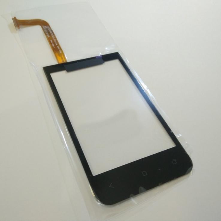 Сенсор тачскрин HTC Desire 200 черный