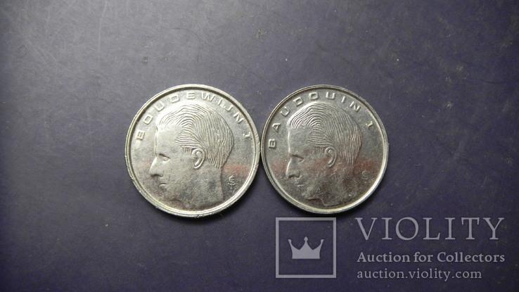 1 франк Бельгія 1989 (два різновиди), фото №3
