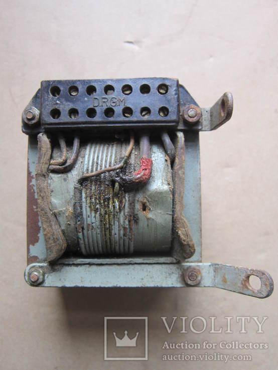 Трансформатор D.R.G.M. -Німеччина період Другої світової., фото №2
