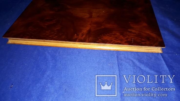 1950-е Деревянная папка для документов 31.5х25, фото №4