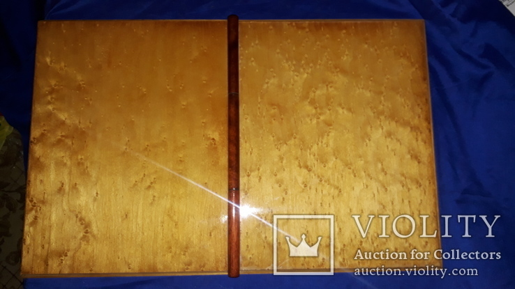 1950-е Деревянная папка для документов 31.5х25, фото №8