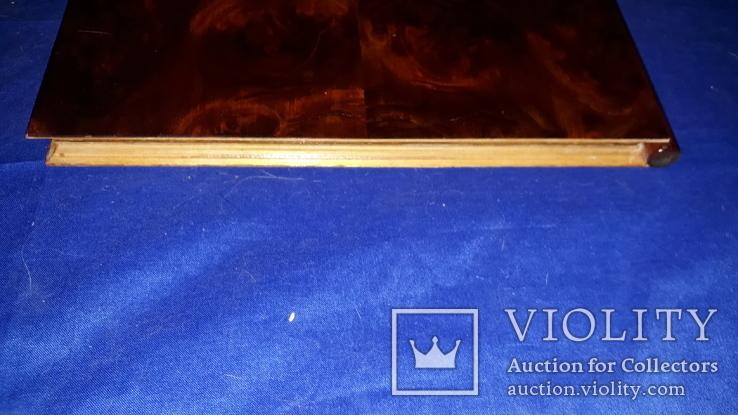 1950-е Деревянная папка для документов 31.5х25, фото №9