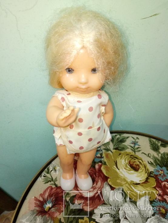 Кукола ссср.ранняя паричковая в фабричной одежде, фото №3