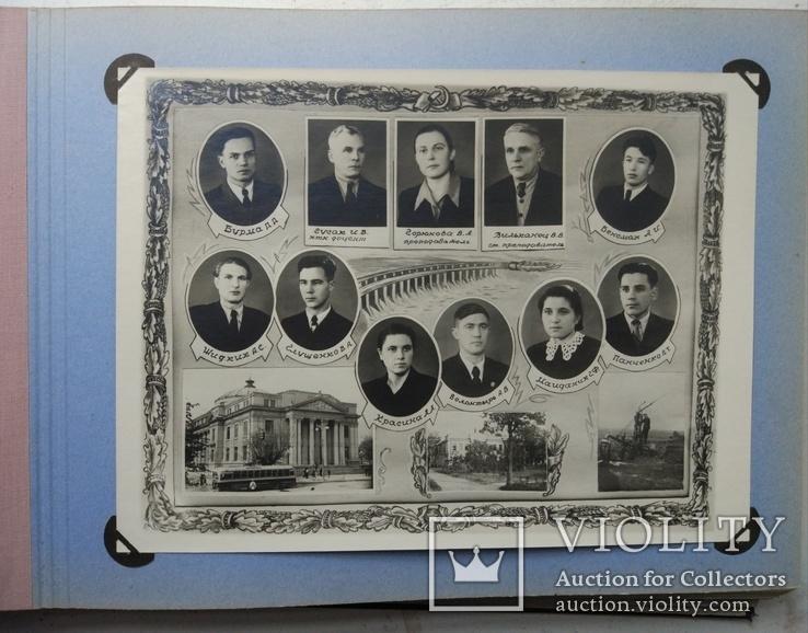 1956г,Фотоальбом выпускника института, фото №8