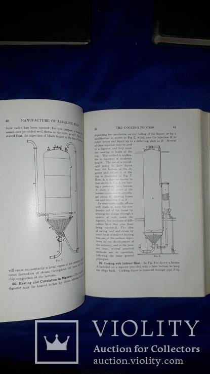 1921 Производство целлюлозы и бумаги в 3 томах, фото №4