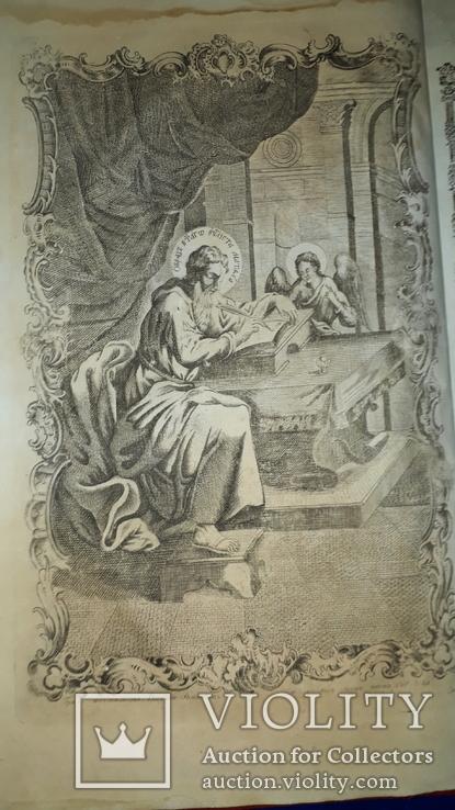 1779 Напрестольное Евангелие 48х31 см. - тройной золотой обрез, фото №7