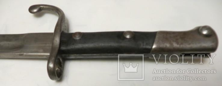 Штик ніж Бразилія М1908 до гвинтівки Маузера, фото №6
