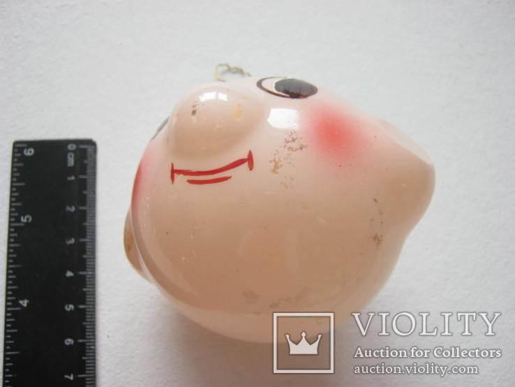 Елочная игрушка голова, фото №3