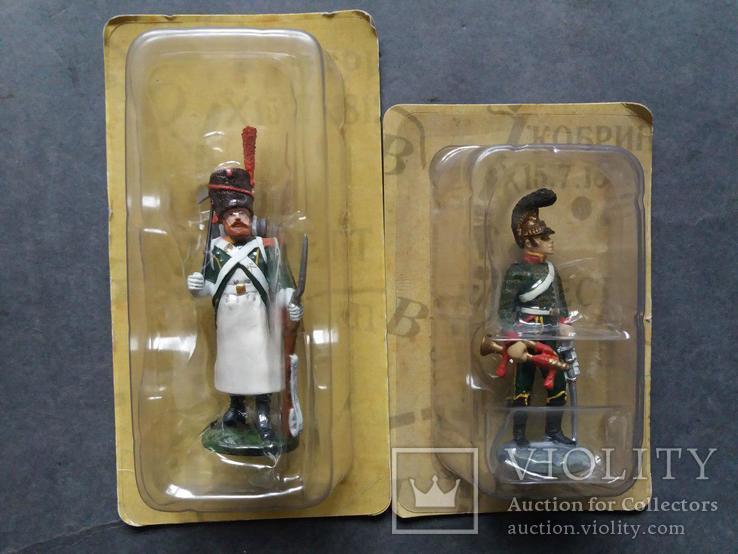 Солдаты наполеоновской войны. 6 шт., фото №3