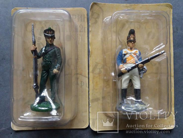 Солдаты наполеоновской войны. 6 шт., фото №5