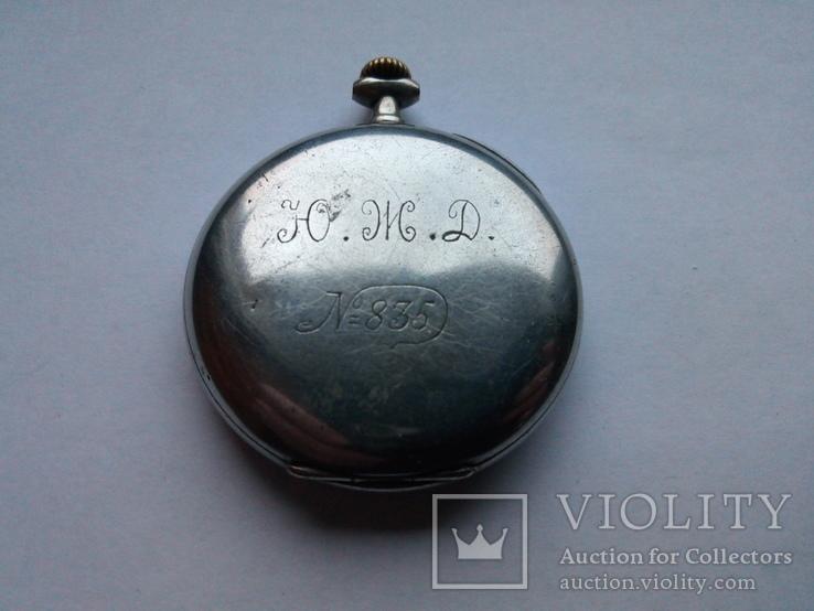 Часы карманные Junghans. Ю.Ж.Д № 835., фото №3