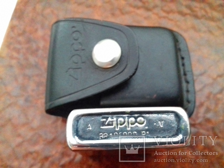 """Зажигалка """"Zippo"""" с чехлом., фото №7"""