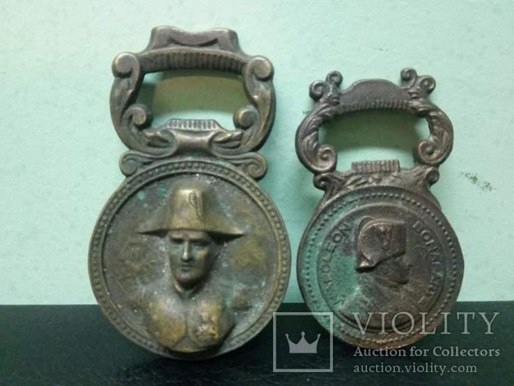 Две открывачки Наполеон (медь и бронза), фото №2