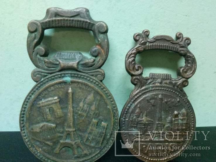 Две открывачки Наполеон (медь и бронза), фото №4